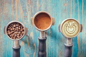 espresso portafilters art