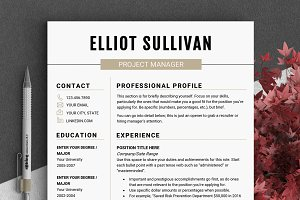 RESUME Design CV Template (MS Word)