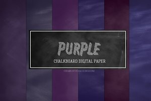 Purple Chalkboard Backgrounds