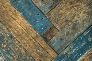 Rustic wooden barn door, wall or table texture and background