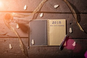 new year's resolutions 2018