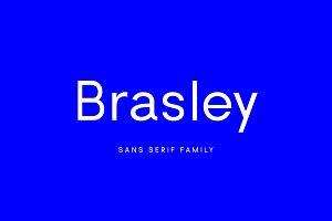 Brasley: a geometric sans family