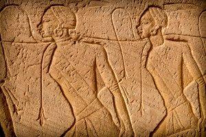 Low-relief, Abu-Simbel