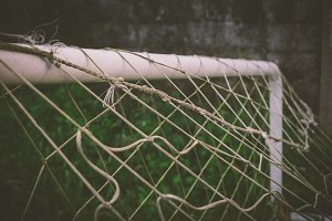 net of a soccer goal