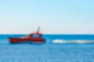 Pilot boat - blurred image