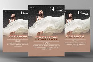 Fashion Admission Flyer