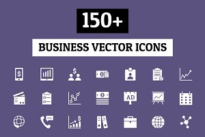 150+ Business Vector Icons