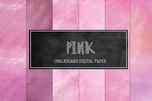 Pink Chalkboard Backgrounds