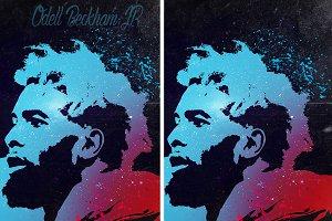 Odell Beckham JR Poster