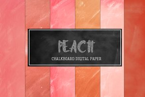Peach Chalkboard Backgrounds