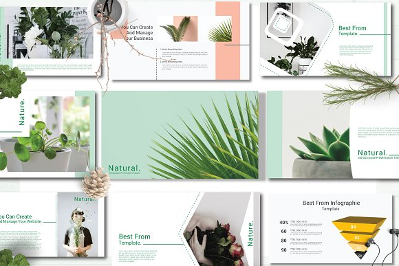 50% OffNatural Google Slide Template