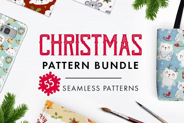 BIG SALE! Christmas patterns bundle