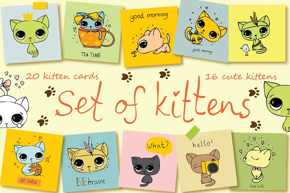 Set of Kittens