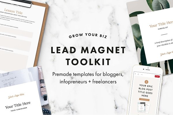Email Templates: Station Seven - New! Lead Magnet Toolkit Bundle