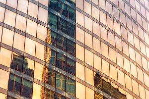 Modern skyscrapers