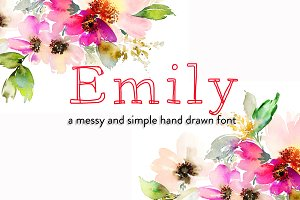 Emily Hand Drawn Font
