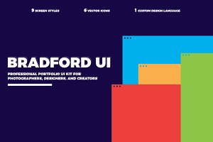 BRADFORD. UI Kit for Sketch
