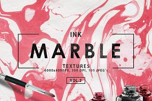 100 Ink Marble Paper Textures 2