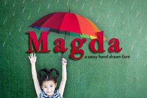 Magda Hand Drawn Font