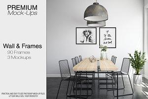 Wall & Frames Mockup Pack