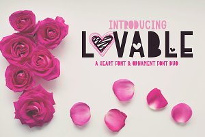 Lovable - Font Duo