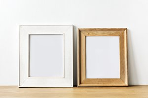 Photo frames mockup (PSD)