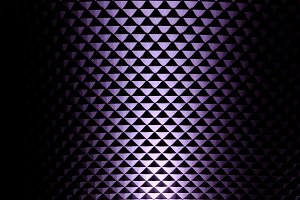 Illuminated wall in violet 1