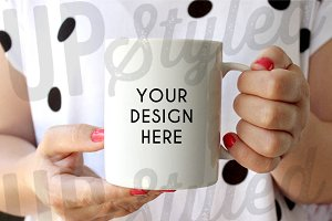 F204 Coffee Mug Stock Photo