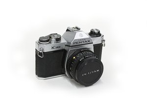 Photos vintage Camera Pentax K1000