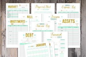 Financial Planner - 2018 Planner