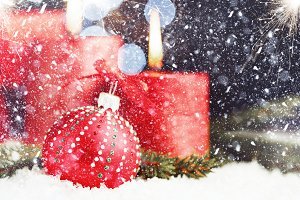 Christmas mood background