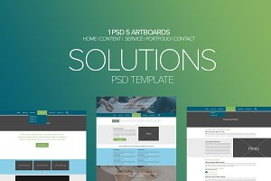 Solutions PSD Template