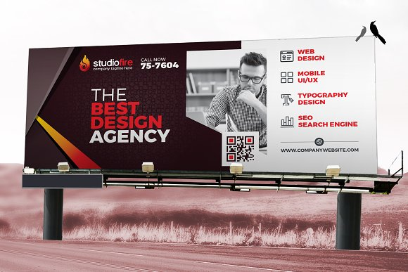 Digital Billboard, Rollup Banner
