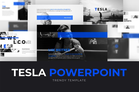 TESLA Powerpoint Template