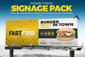 Digital Signage for Fast Food Agency