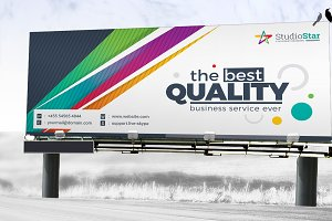 Rollup Banner Digital Sign Billboard
