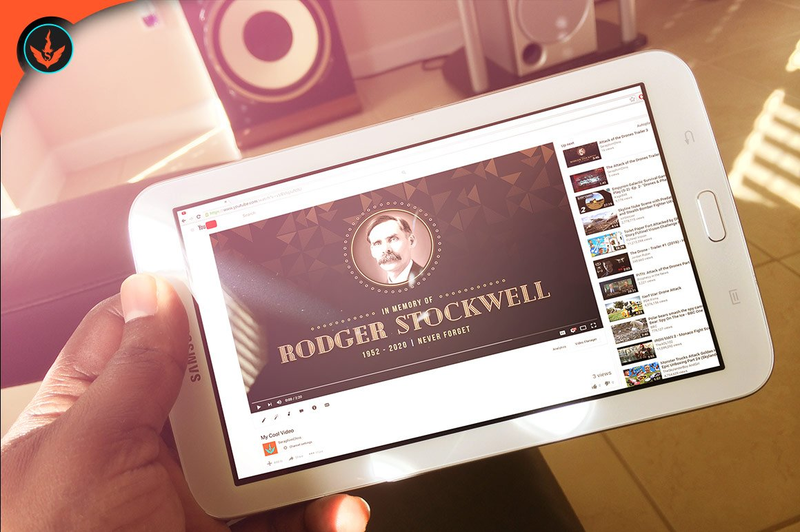 Art Deco Funeral YouTube Video
