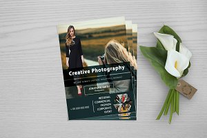 Photography Business Flyer V722