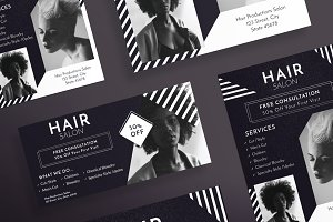Flyers | Hair Salon