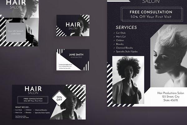 Print Pack | Beauty Salon ~ Templates ~ Creative Market