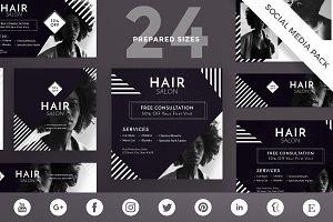 Social Media Pack | Hair Salon