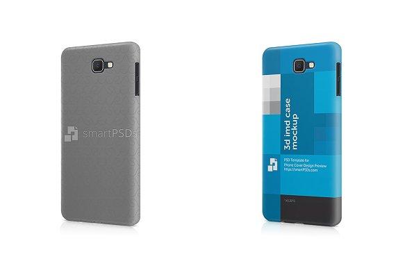 Galaxy J7 Prime 3D IMD Mobile Case