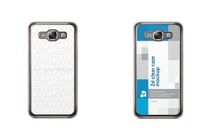 Galaxy E7 2d Clear Mobile Case