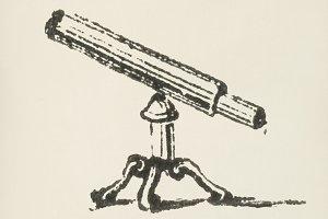 Telescope icon (PSD)