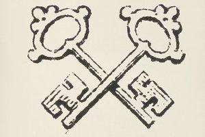 Keyword icon (PSD)