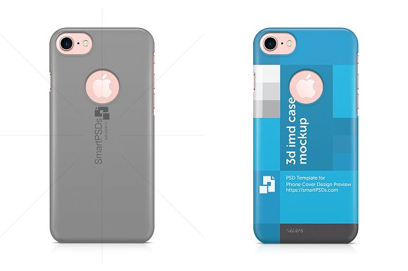 iPhone 7 With Hole 3d IMD Phone Case