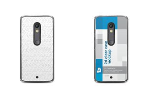 Moto X Play 2d Clear Mobile Case