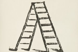 Ladder icon (PSD)