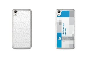 HTC Desire 826 2d Clear Mobile Case