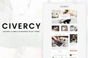 Civercy - Elegant WordPress Theme